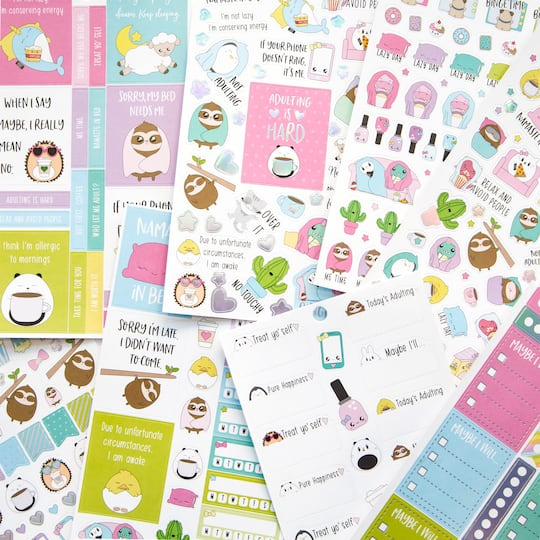 Shop For The Craft Smith Sweet Kawaii Design Sticker Book