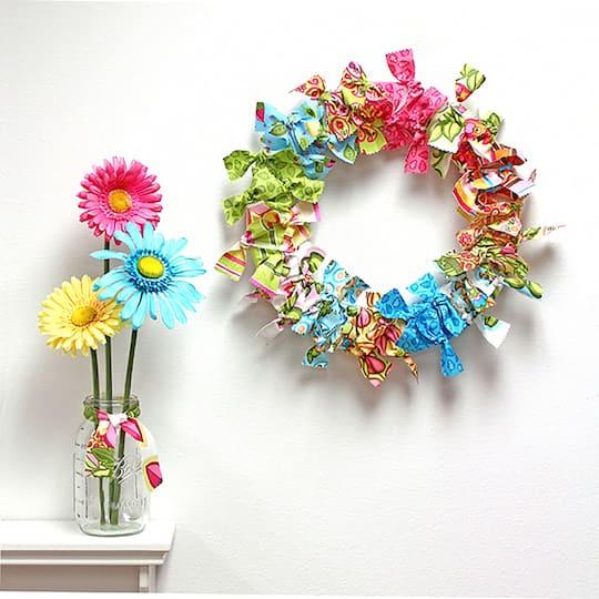 Floracraft Craftfōm Extruded Wreath White Michaels