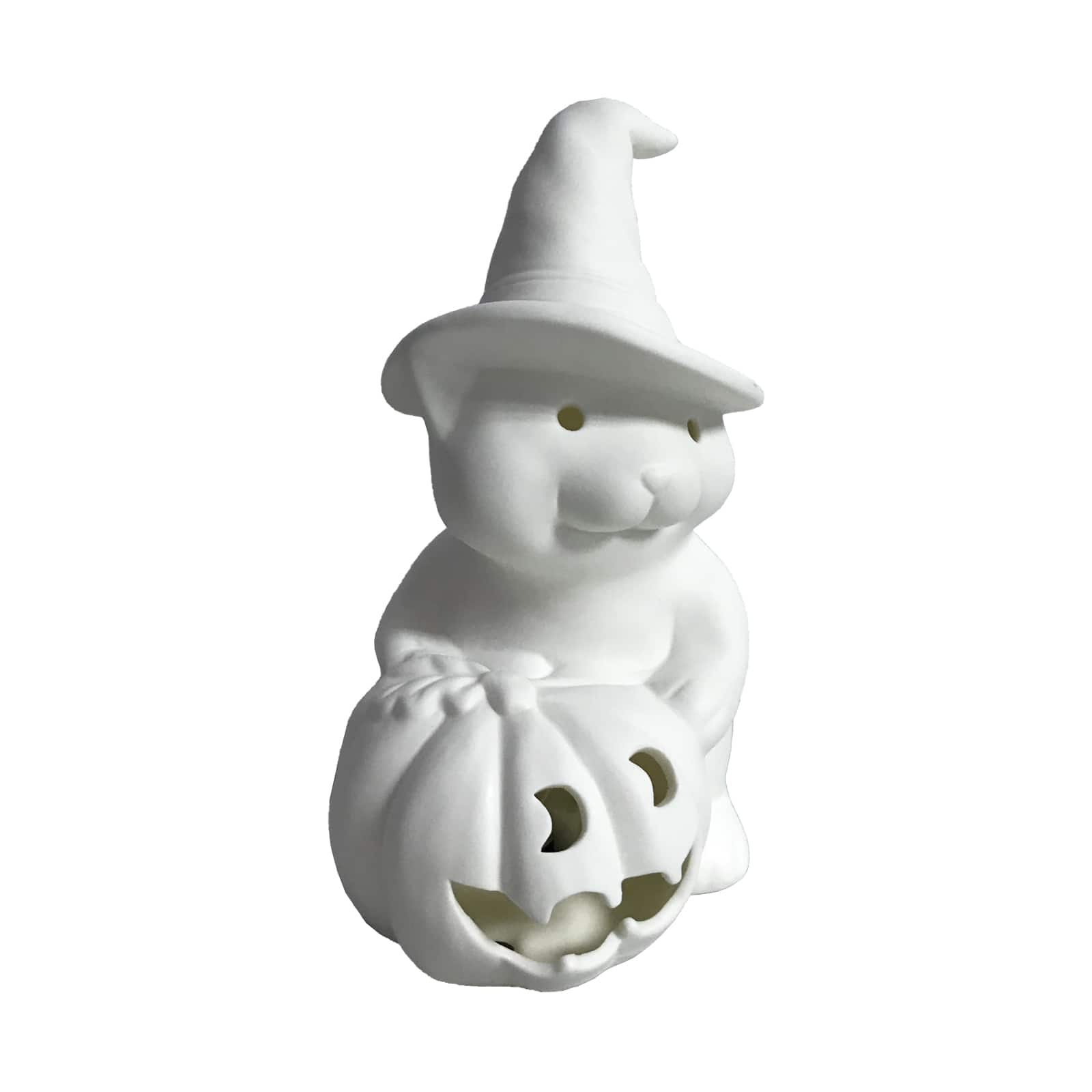 7.16'' Cat With Hat Ceramic Led Accent By Art Minds™ by Artminds