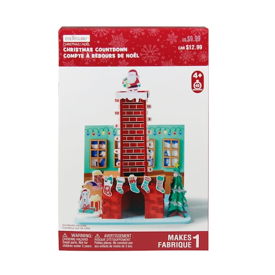 Chimney Christmas Countdown Craft Kit By Creatology? | Michaels�