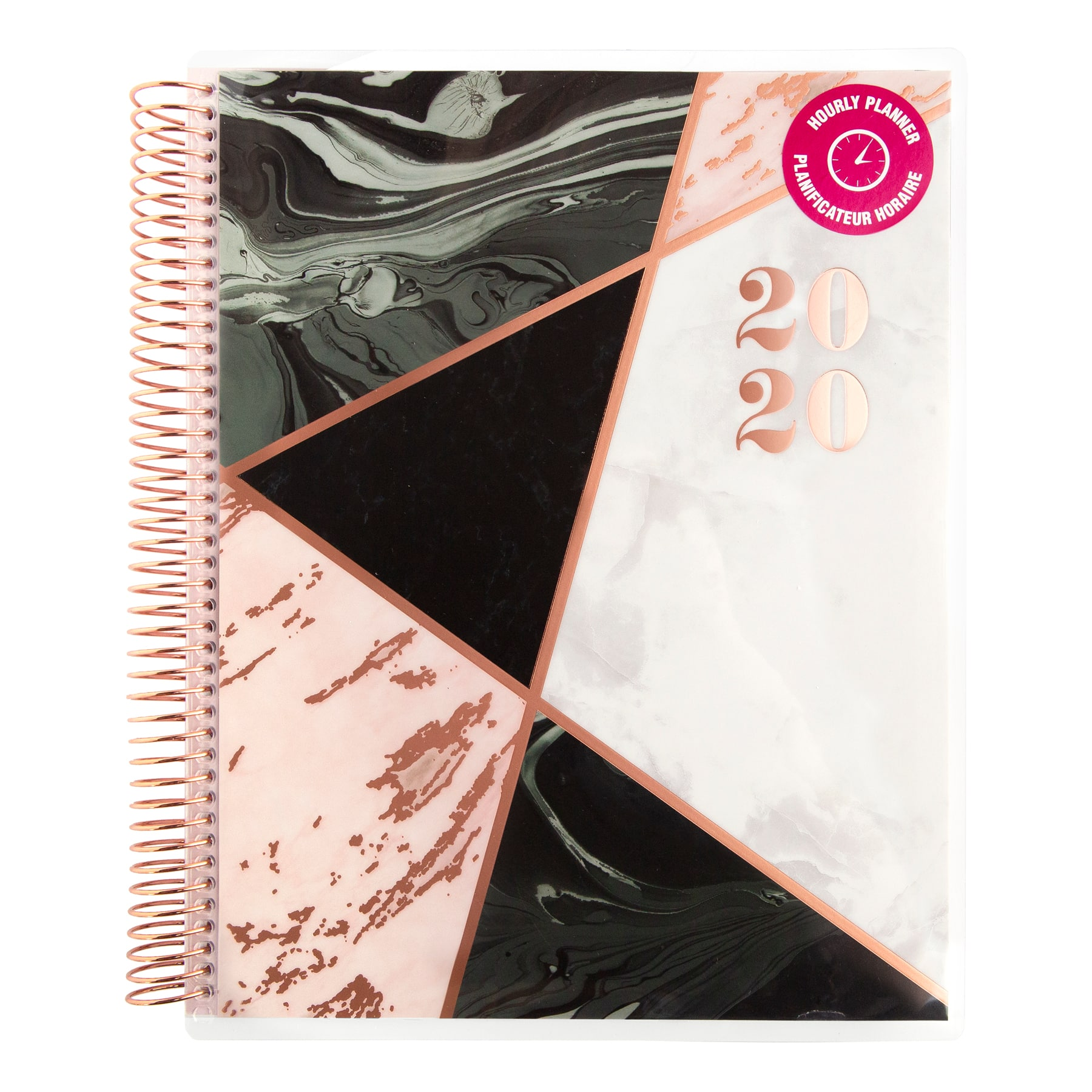 large-hourly-note-taking-spiral-planner-by-recollections by michaels