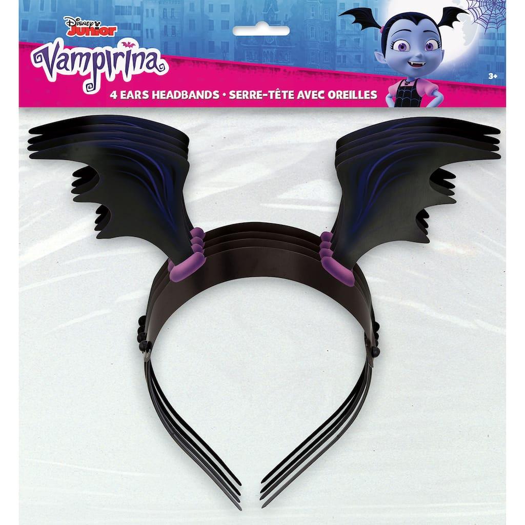 Vampirina Party Headbands 4ct
