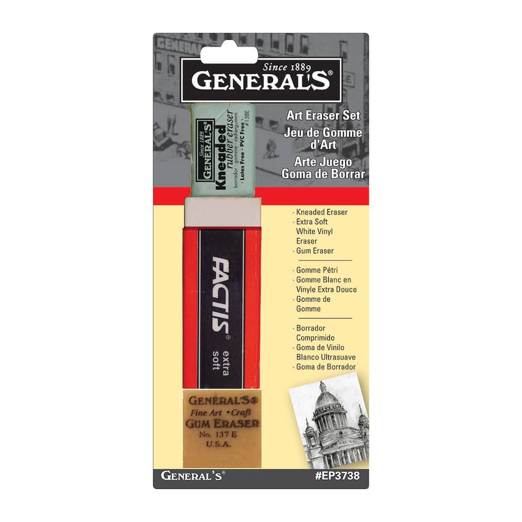 Find the General Pencil Art Eraser Set at Michaels