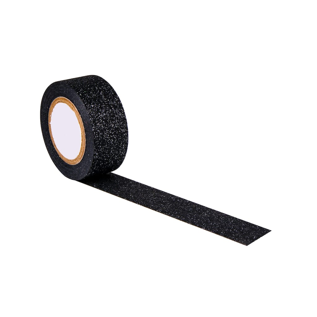 Shop For The Black Glitter Mini Project Tape At Michaels