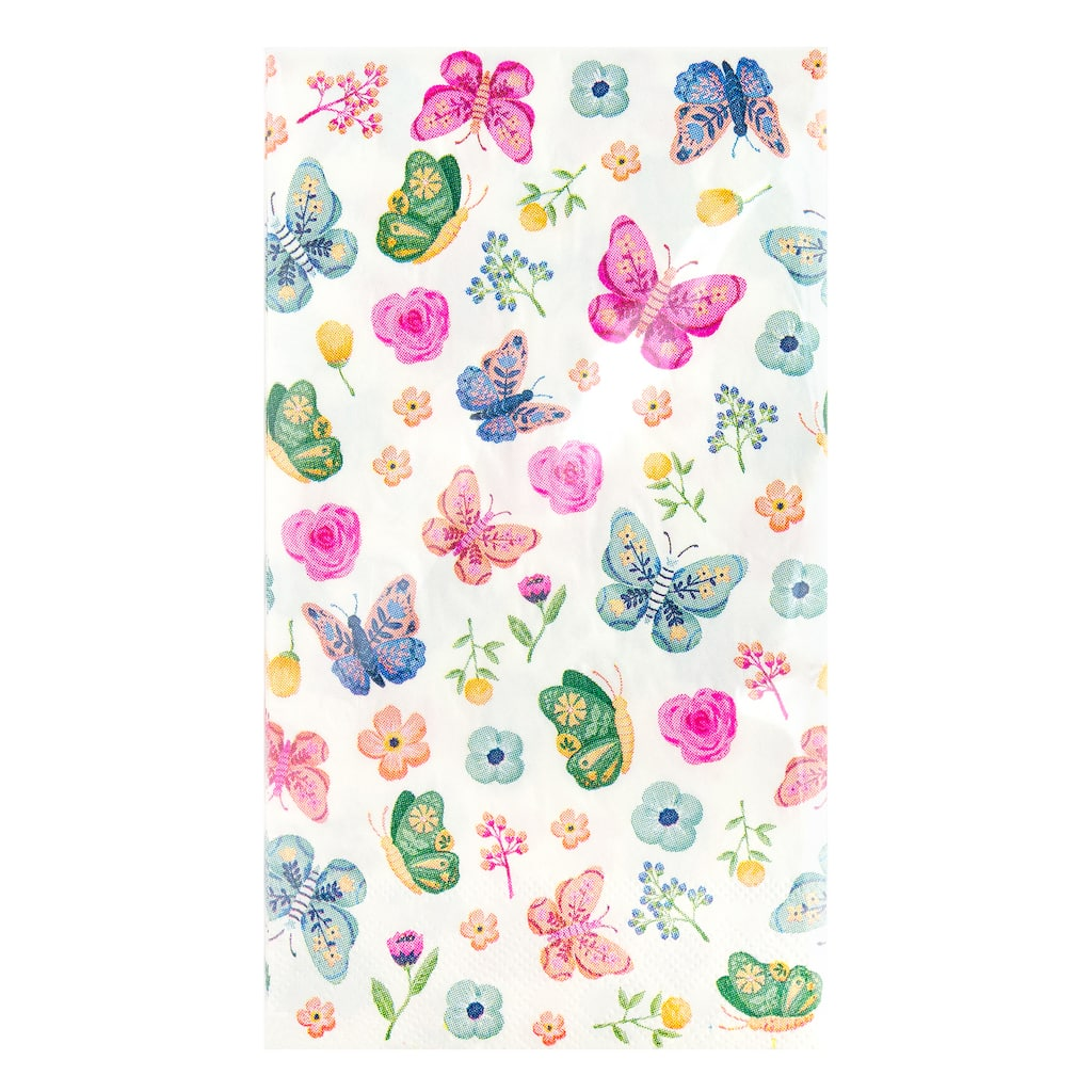 Butterfly Guest Napkins By Celebrate It Spring 24ct Michaels