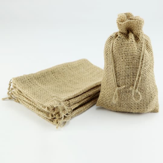 Occasions Burlap Favor Bags By Celebrate It 4 5 X 7