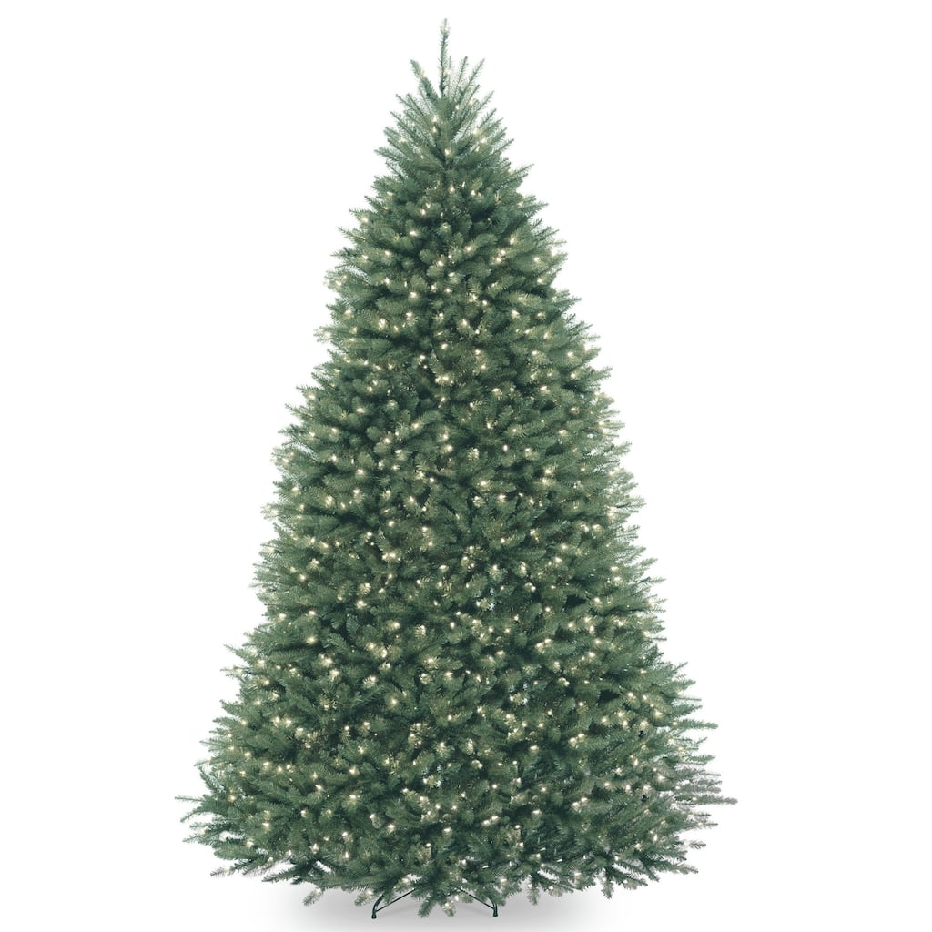 Artificial Christmas Tree Branches.9ft Pre Lit Dunhill Blue Fir Artificial Christmas Tree Clear Lights