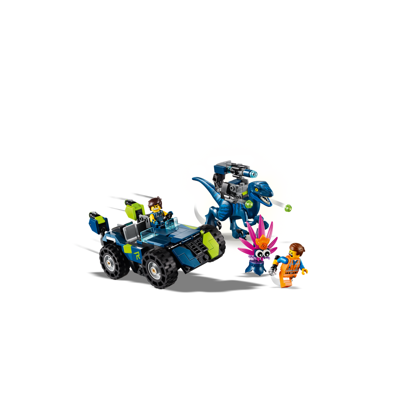 Lego Movie 2 70826 Rex/'s Rex-Treme Offroader Recon ONLY NO MINIFIGURES