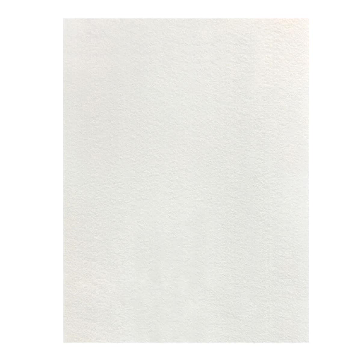 White Felt, Large 12x18 sheet