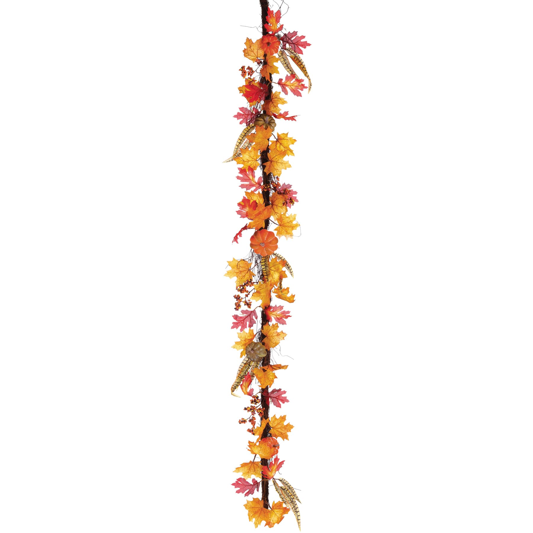 Buy The 6ft Orange Pumpkin Fall Leaves Garland At Michaels Com