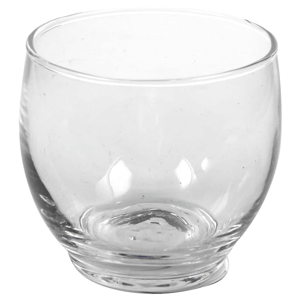 24 Pack Round Glass Votive Candle Holder By Ashland Michaels