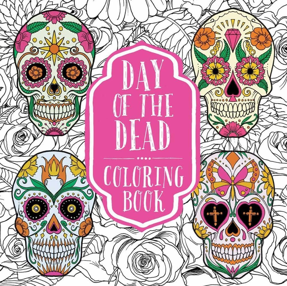- Shop For The Day Of The Dead Coloring Book At Michaels