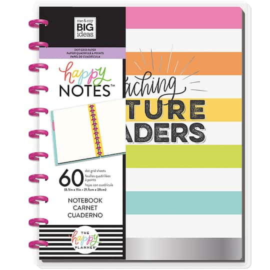 The Big Happy Planner® Happy Notes™ Teaching Future Leaders Notebook