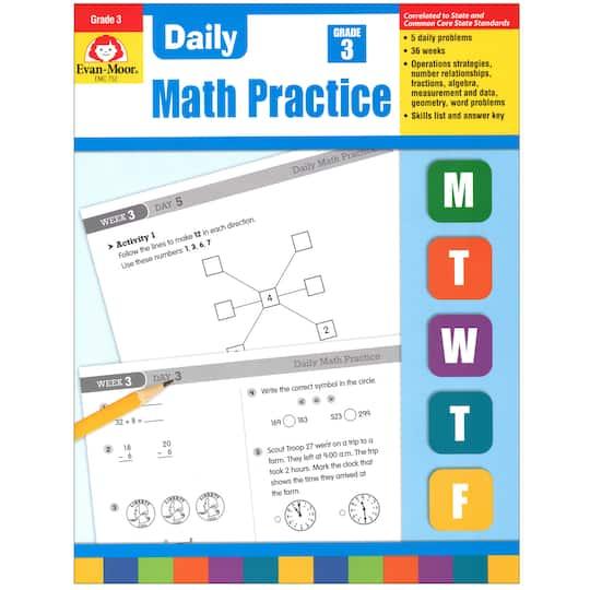 Evan Moor® Daily Math Practice, Grade 3