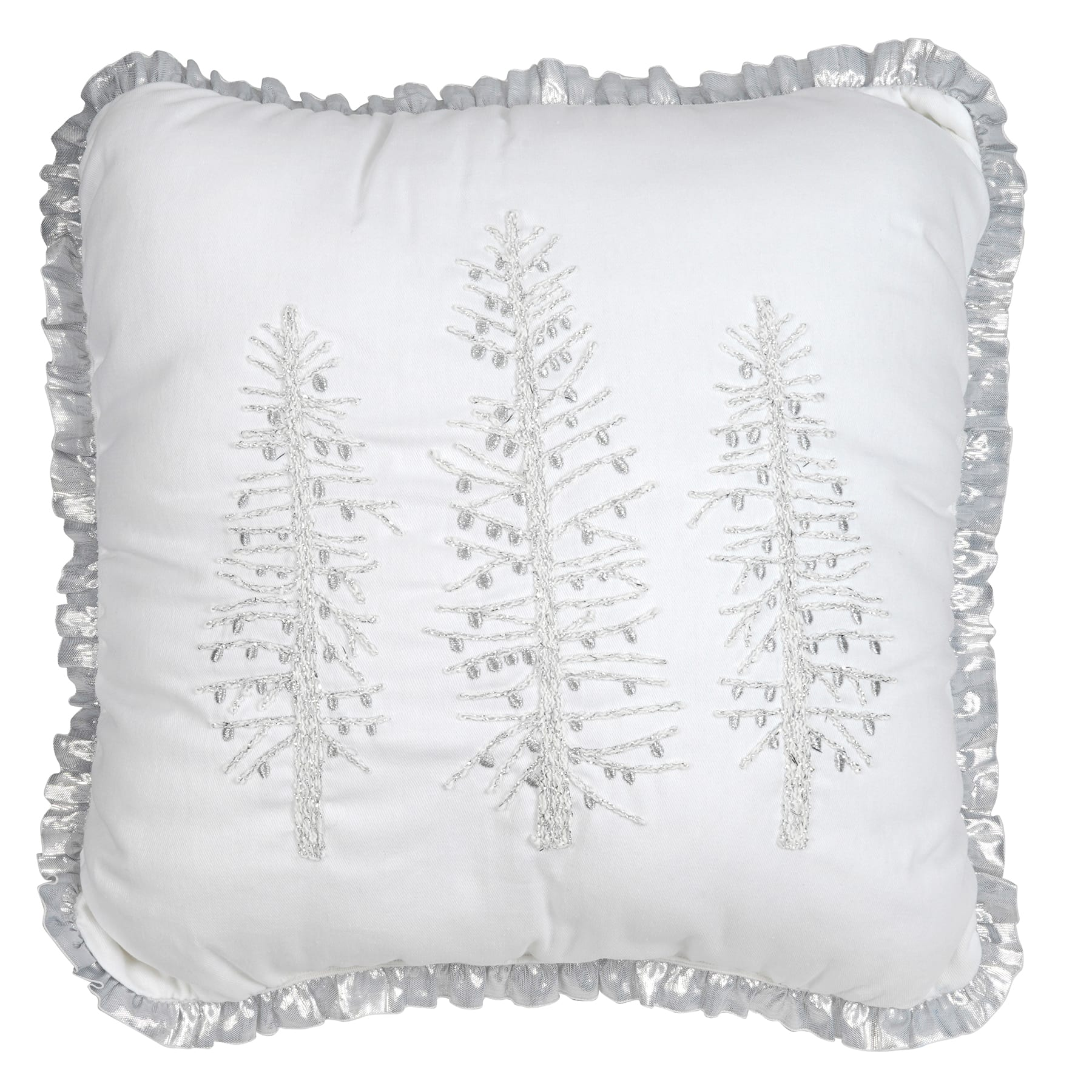 AshlandChristmas Trees Lumbar Pillow By