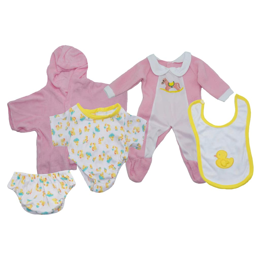90aeeb78a51d Purchase the Girl Doll Clothes Set at Michaels