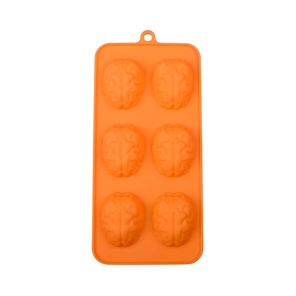 Michaels Halloween Backing Molds 2020 Mini Brains Silicone Candy Mold by Celebrate It™ Halloween