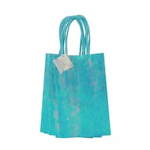 Small Blue Gift Bags By Celebrate It 6 Pack