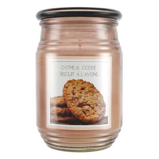 16.4oz Oatmeal Cookie Jar Candle by Ashland® | Michaels