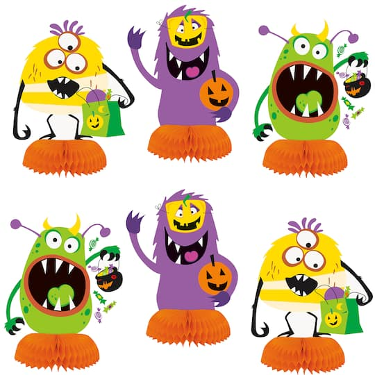 Halloween Monster Table Centerpieces Halloween Party Decorations