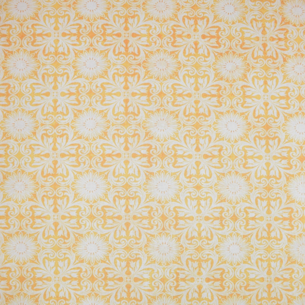 Find the Gold Vintage Medallion Blender Cotton Home Décor Fabric at Michaels .com