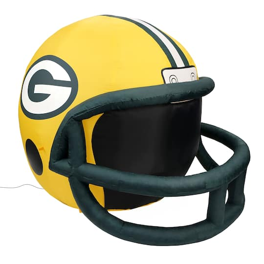 sale retailer 8bf7d d8621 4ft. Inflatable NFL Green Bay Packers Team Helmet