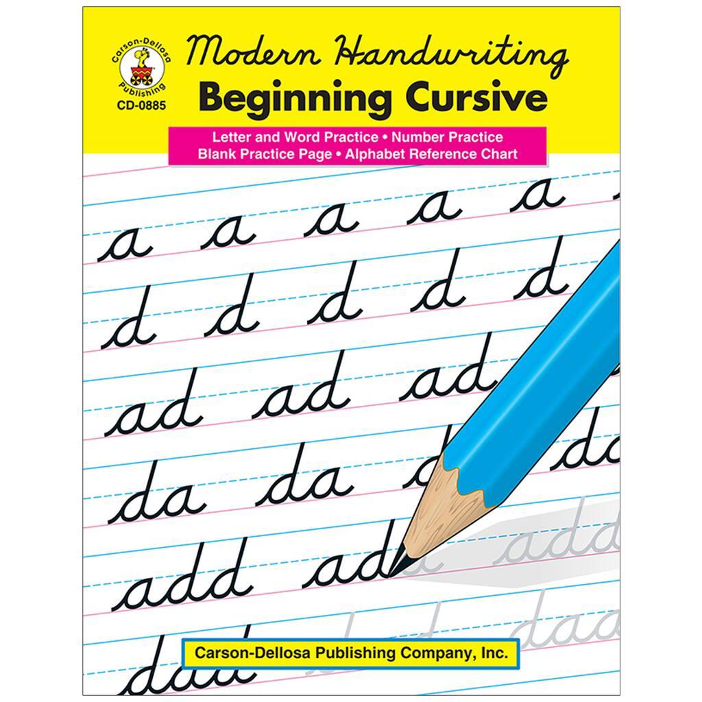 Modern Handwriting: Beginning Cursive, Grades 1-3