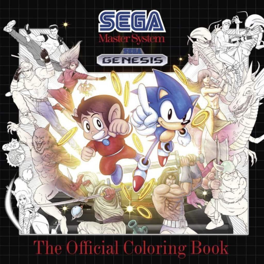 Buy The Sega The Official Sega Coloring Book At Michaels