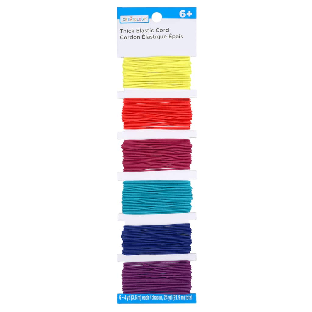 Basic Elastic Cord Pack By Creatology Michaels