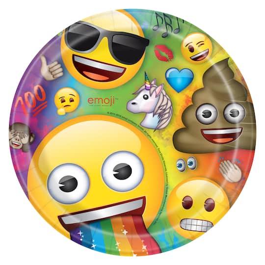 Emoji Paper Plates