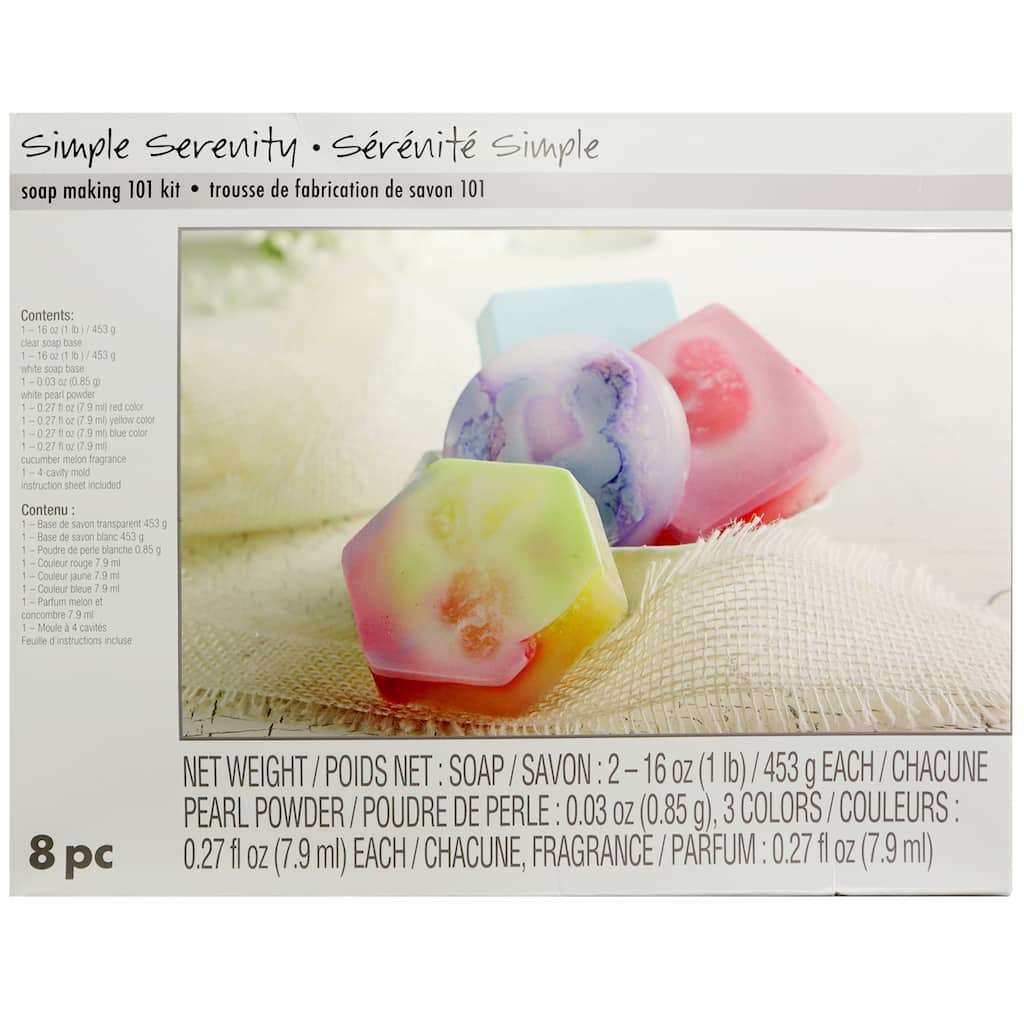 Simple Serenity Soap Making 101 Kit By Artminds Michaels