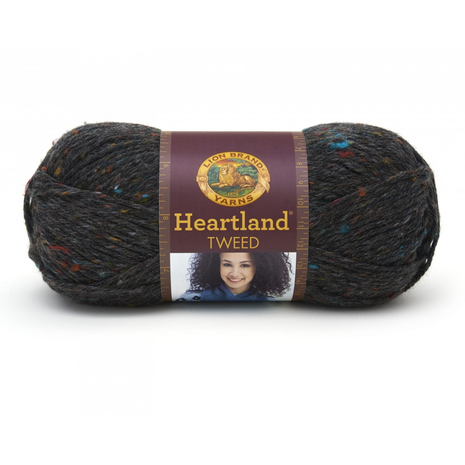 "Set Of 3/"" /""Heartland Yarn-Mount Rainier Tweed"