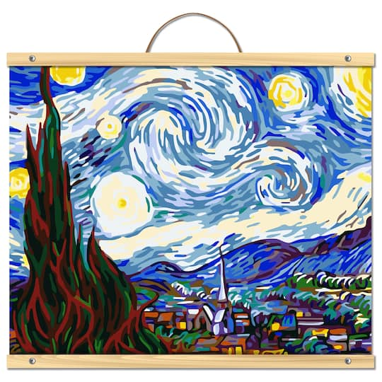 Van Gogh Starry Night Paint By Number Kit By Artist S Loft Necessities Michaels