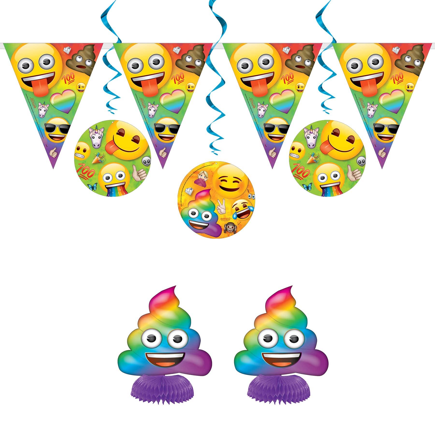 Emoji Decoration Kit NEW Birthday Party Supplies