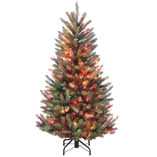 Where To Buy A Nice Artificial Christmas Tree: Buy The 4.5ft. Pre-Lit Natural Fraser Slim Fir Artificial
