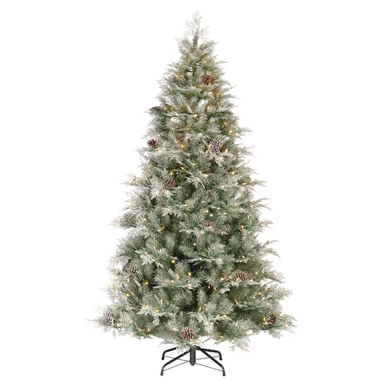 Where To Buy A Nice Artificial Christmas Tree: Buy The 7.5ft. Pre-Lit PowerConnect™ Mountain Spruce
