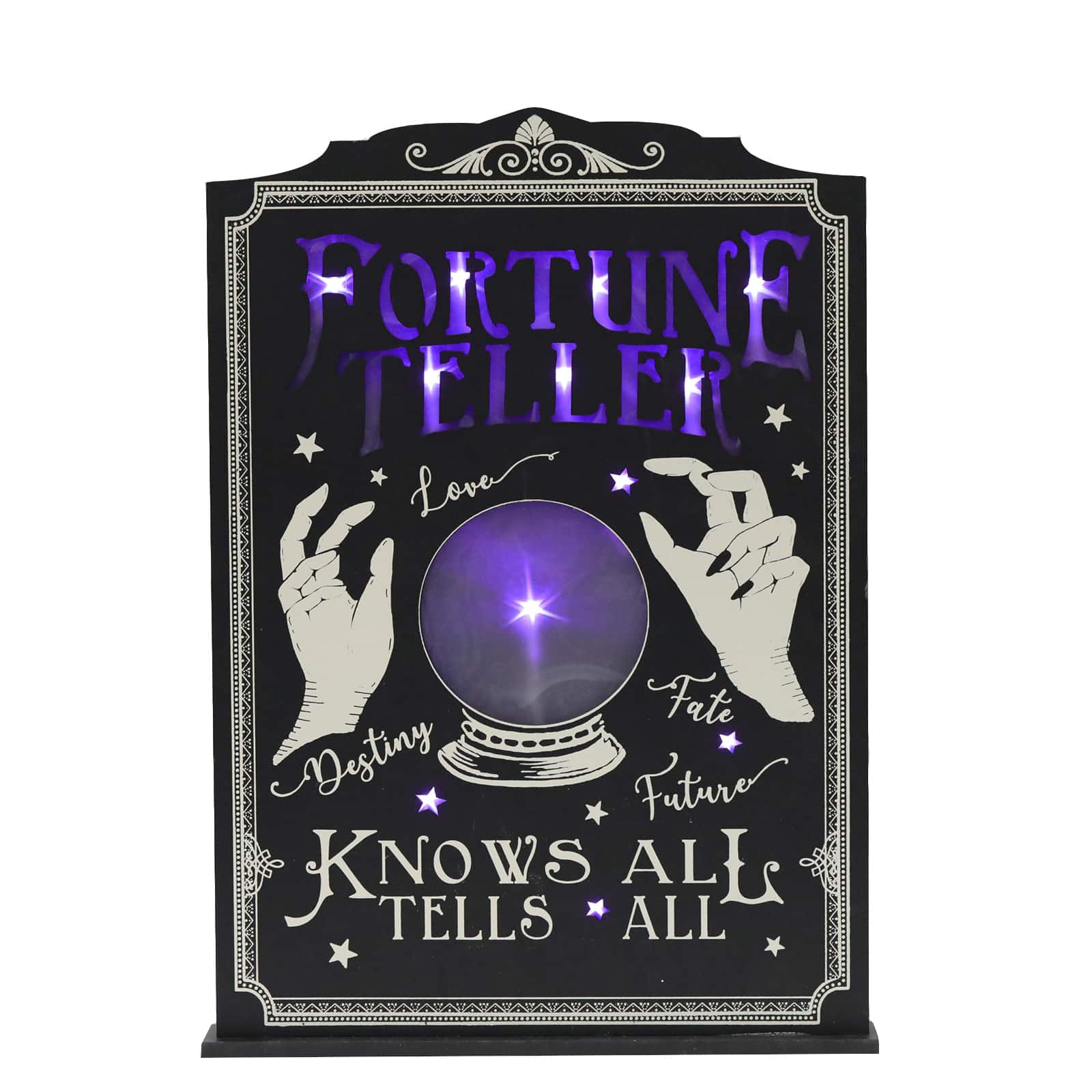 fortune-teller-led-tabletop-sign-with-try-me-by-ashland by michaels