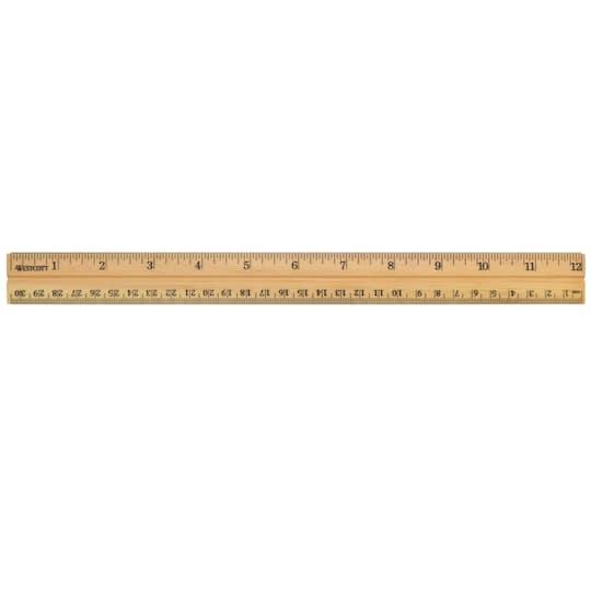 Westcott School Wood Ruler 36ct