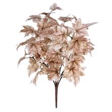 Shop Cream Maple Leaf Bush by Ashland® from Michael's on Openhaus