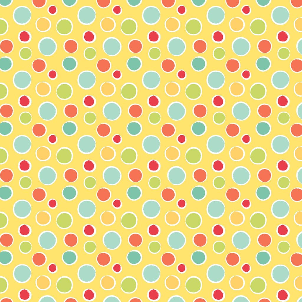 Find the Babies Friends Dots Cotton Home Décor Fabric at Michaels
