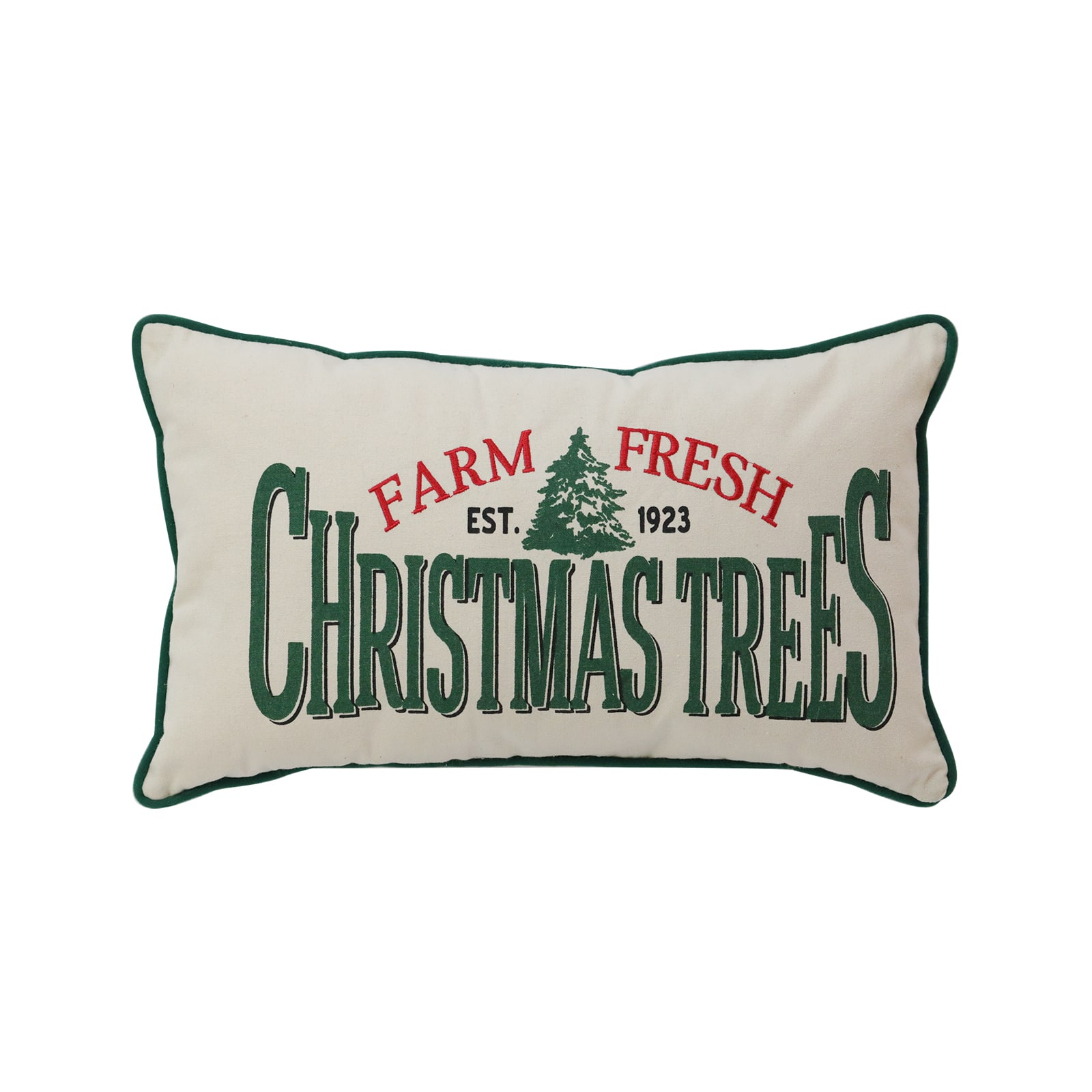 AshlandChristmas Trees Lumbar Pillow By