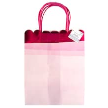 medium pink watercolor gift bags by celebrate it™