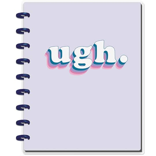 The Classic Happy Planner® Happy Notes™ Ugh Student Notebook