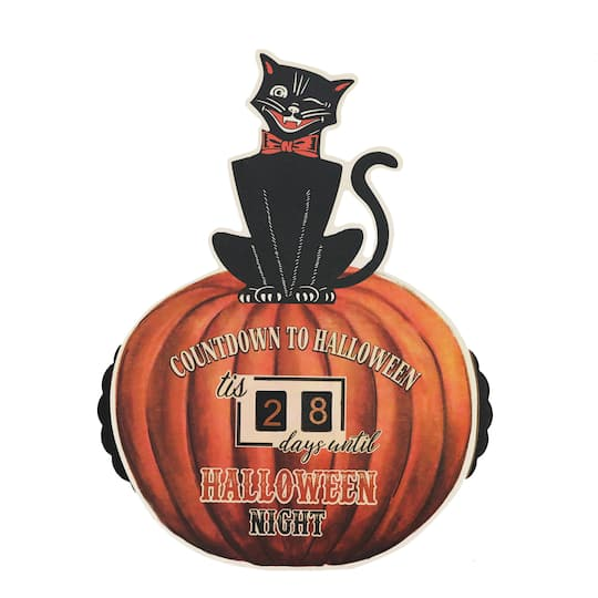 Image result for michael's halloween cat countdown decoration