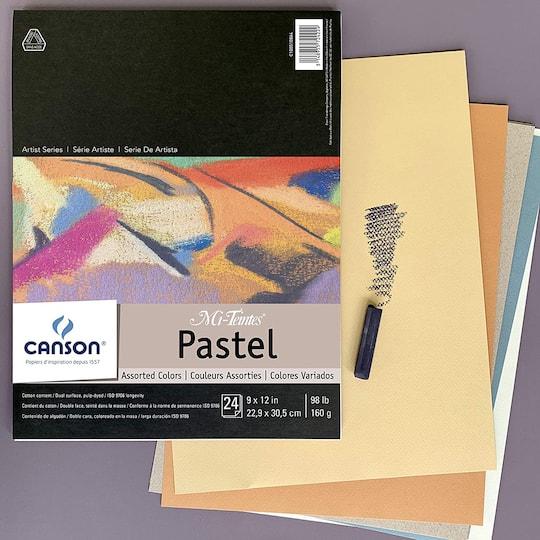 Canson Mi-Teintes Pastel Colors Paper Assortment Pastel Colors