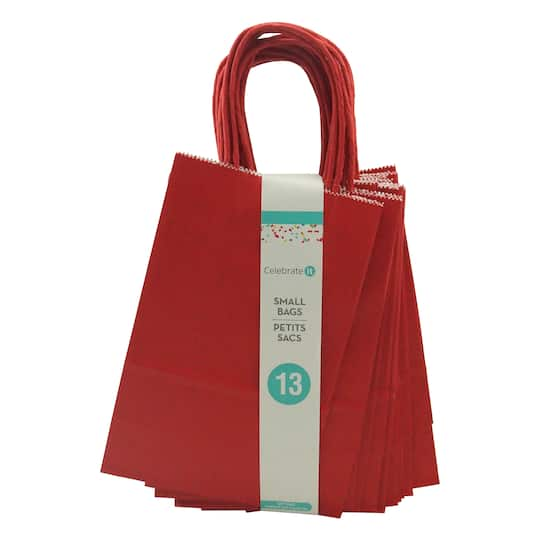 For The Small Red Paper Bags By