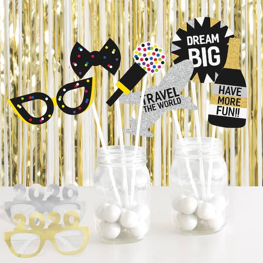 New Year Party Photo Prop and Booth Kit | New Years Eve ...