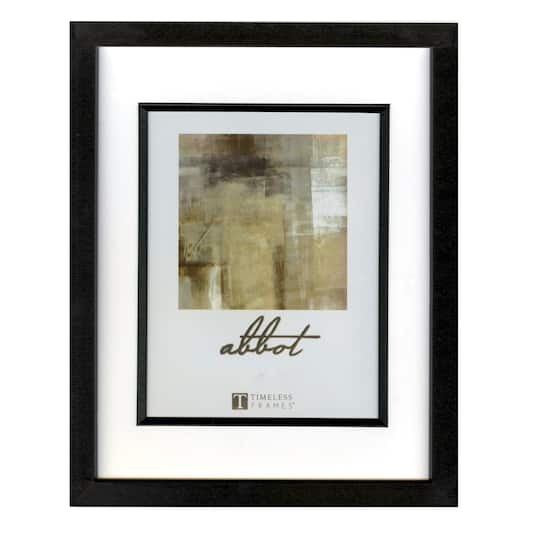 find the timeless frames black 11 x 14 frame with mat abbot collection at michaels. Black Bedroom Furniture Sets. Home Design Ideas