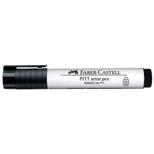 Faber-Castell� Pitt� Big Brush Artist Pen in White | Michaels�