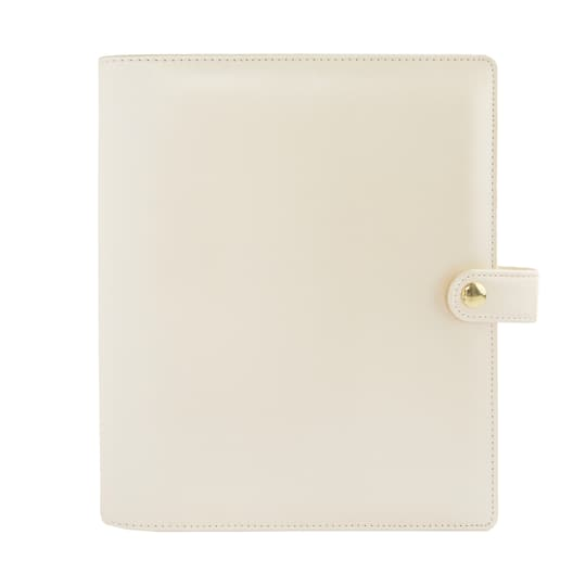 Creative Year A5 Binder By Recollections? in Metallic Ivory | Michaels�